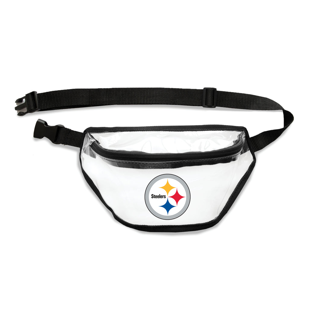 Pittsburgh Steelers Clear Fanny Pack
