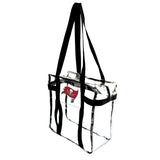 Tampa Bay Buccaneers Clear Tote Along