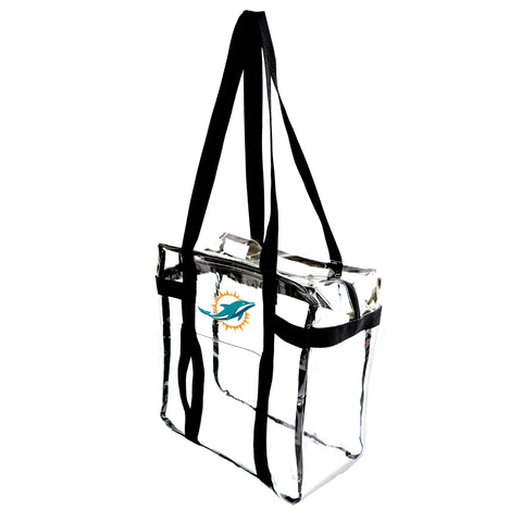 Miami Dolphins Clear Tote Along