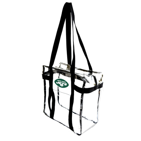 New York Jets Clear Tote Along