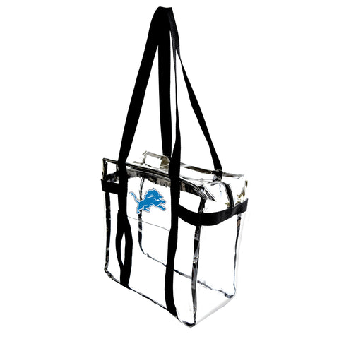 Detroit Lions Clear Tote Along