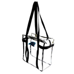 Carolina Panthers Clear Tote Along