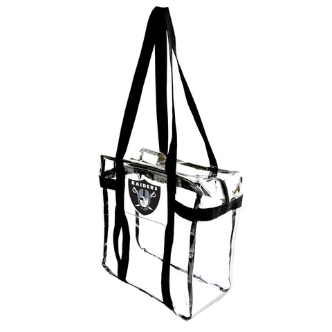 Oakland Raiders Clear Tote Along