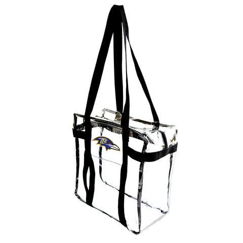 Baltimore Ravens Clear Tote Along