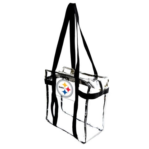 Pittsburgh Steelers Clear Tote Along