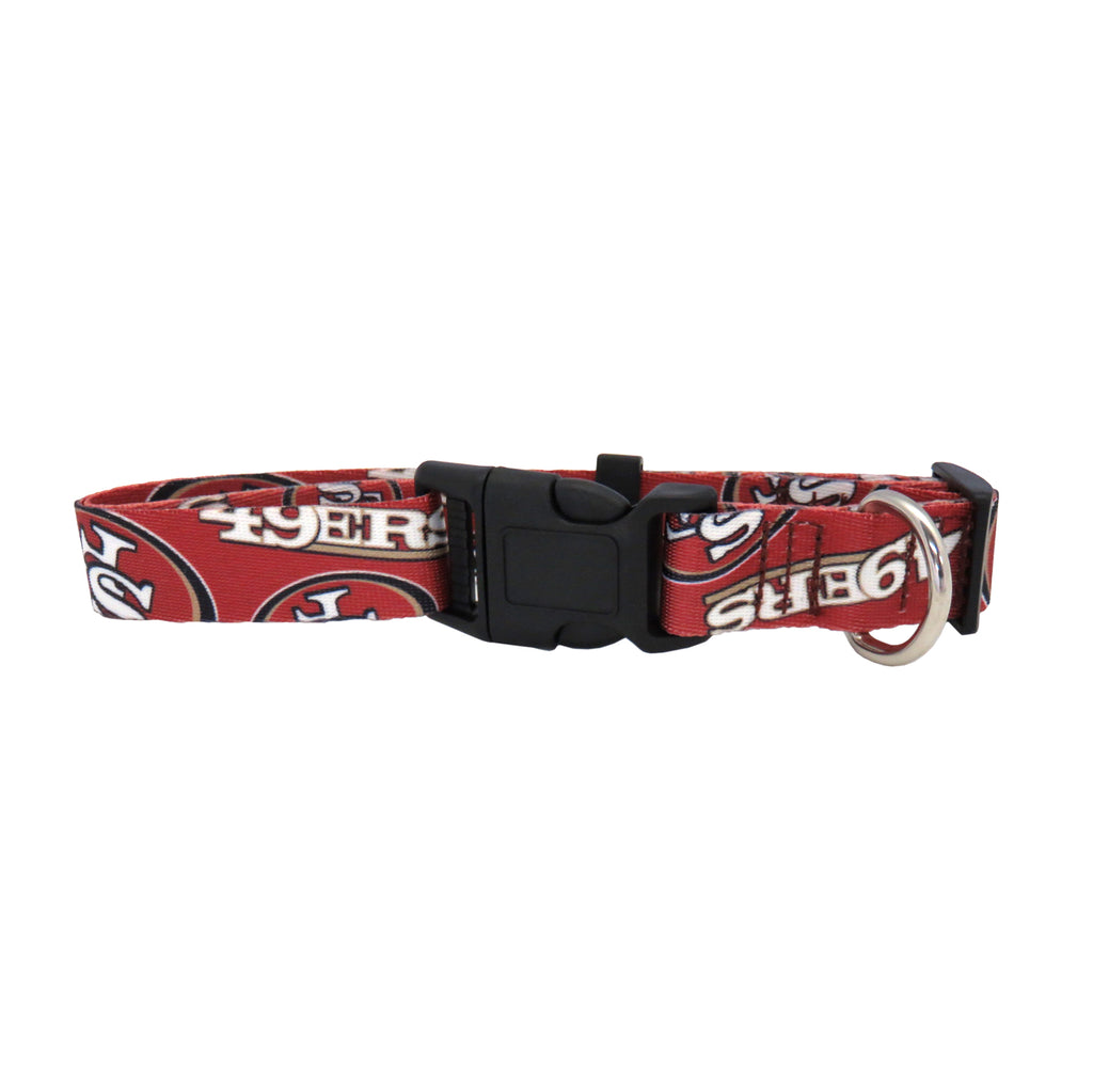 San Francisco 49ers Pet Team Collar