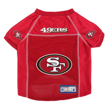 Load image into Gallery viewer, San Francisco 49ers Pet Jersey