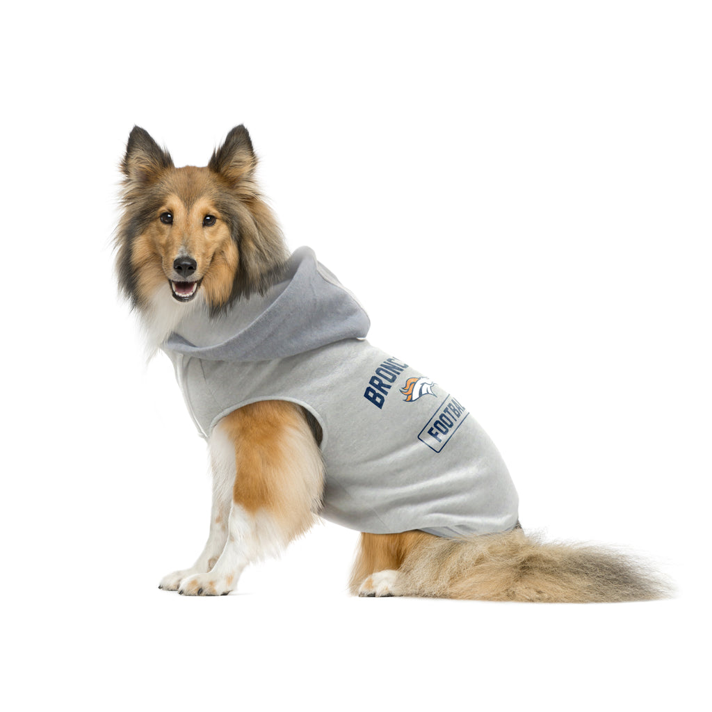 Denver Broncos Pet Hooded Crewneck Type