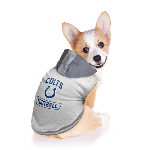 Indianapolis Colts Pet Hooded Crewneck