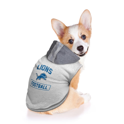 Detroit Lions Pet Hooded Crewneck