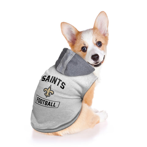 New Orleans Saints Pet Hooded Crewneck