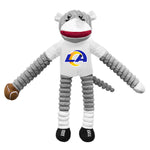 Los Angeles Rams Team Sock Monkey Pet Toy