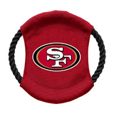 San Francisco 49ers Team Flying Disc Pet Toy
