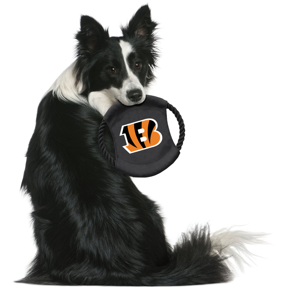 Cincinnati Bengals Team Flying Disc Pet Toy