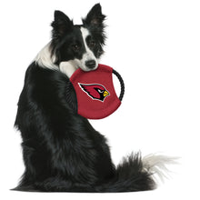 Load image into Gallery viewer, Arizona Cardinals Team Flying Disc Pet Toy