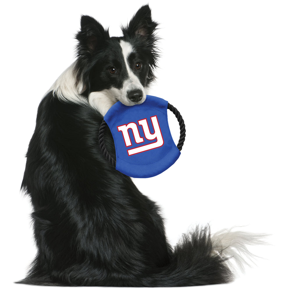 New York Giants Team Flying Disc Pet Toy