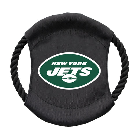 New York Jets Team Flying Disc Pet Toy