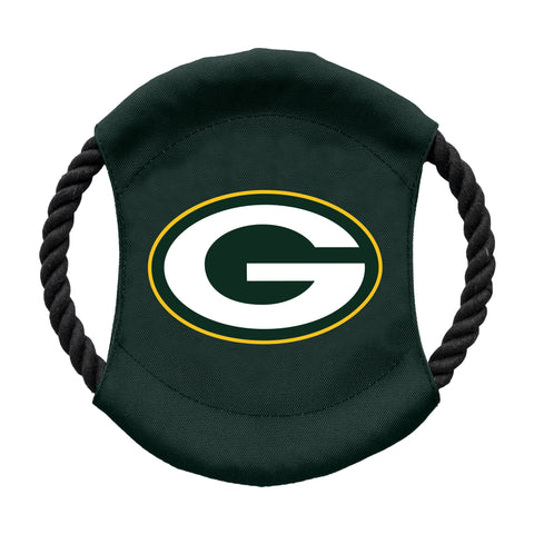 Green Bay Packers Team Flying Disc Pet Toy