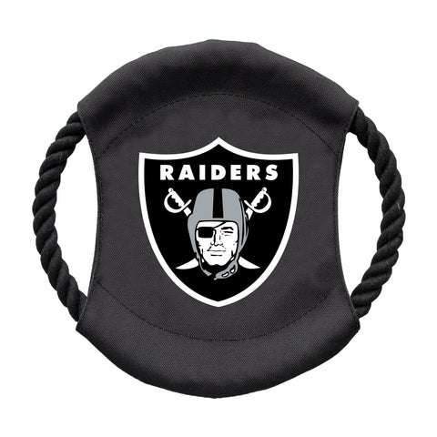 Oakland Raiders Team Flying Disc Pet Toy