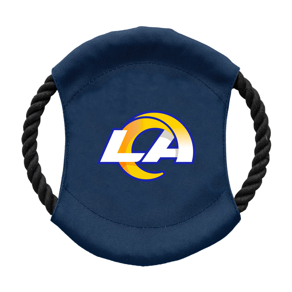 Los Angeles Rams Team Flying Disc Pet Toy