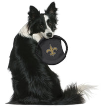 Load image into Gallery viewer, New Orleans Saints Team Flying Disc Pet Toy