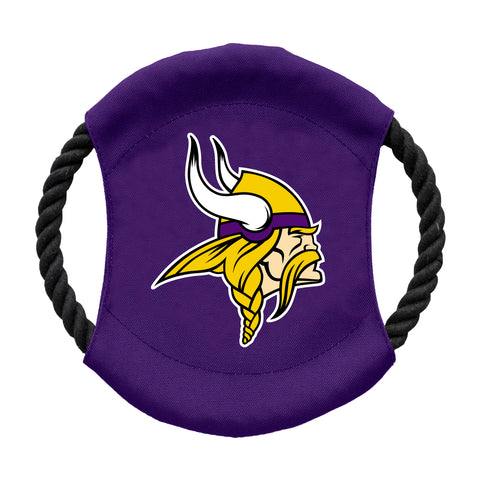 Minnesota Vikings Team Flying Disc Pet Toy