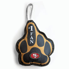 Load image into Gallery viewer, San Francisco 49ers Super Fan Pet Toy