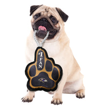 Load image into Gallery viewer, Baltimore Ravens Super Fan Pet Toy