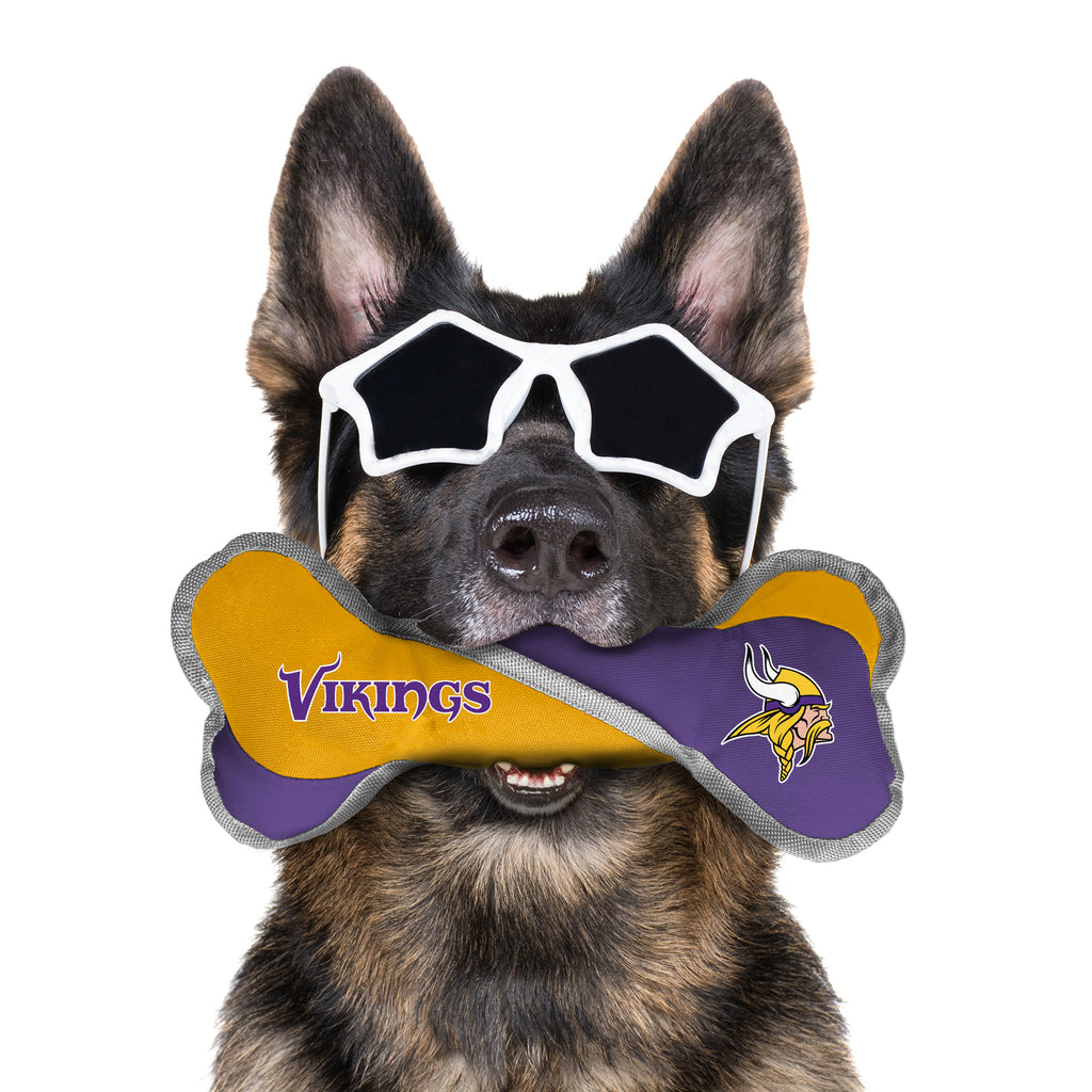 Minnesota Vikings Pet Tug Bone
