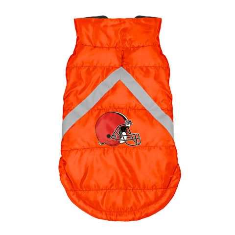 Cleveland Browns Pet Puffer Vest