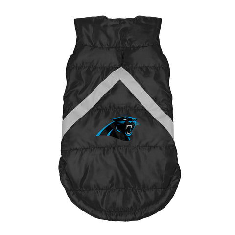 Carolina Panthers Pet Puffer Vest