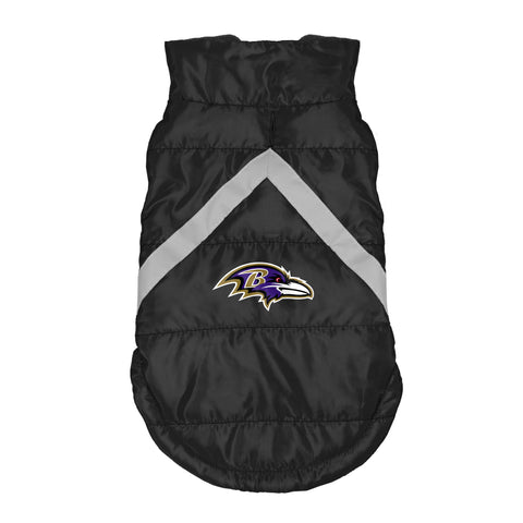 Baltimore Ravens Pet Puffer Vest