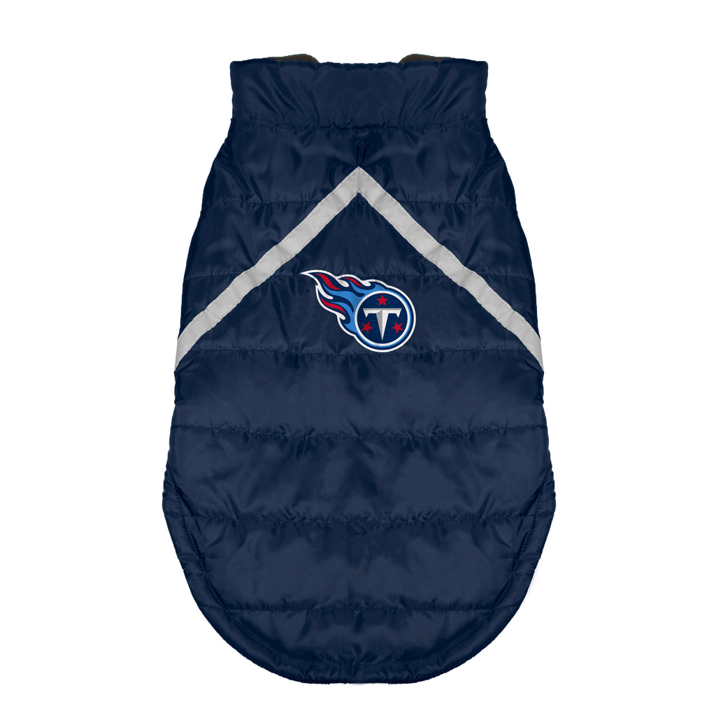 Tennessee Titans Pet Puffer Vest