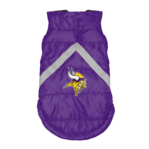 Minnesota Vikings Pet Puffer Vest