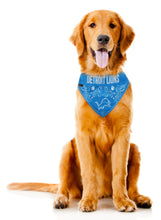 Load image into Gallery viewer, Detroit Lions Pet Bandana