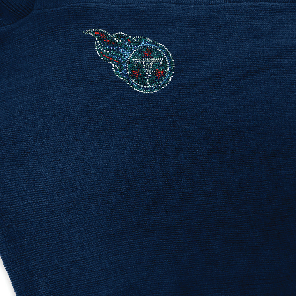 Tennessee Titans Crystal Knit Poncho