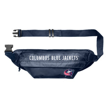 Load image into Gallery viewer, Columbus Blue Jackets Large Fanny Pack