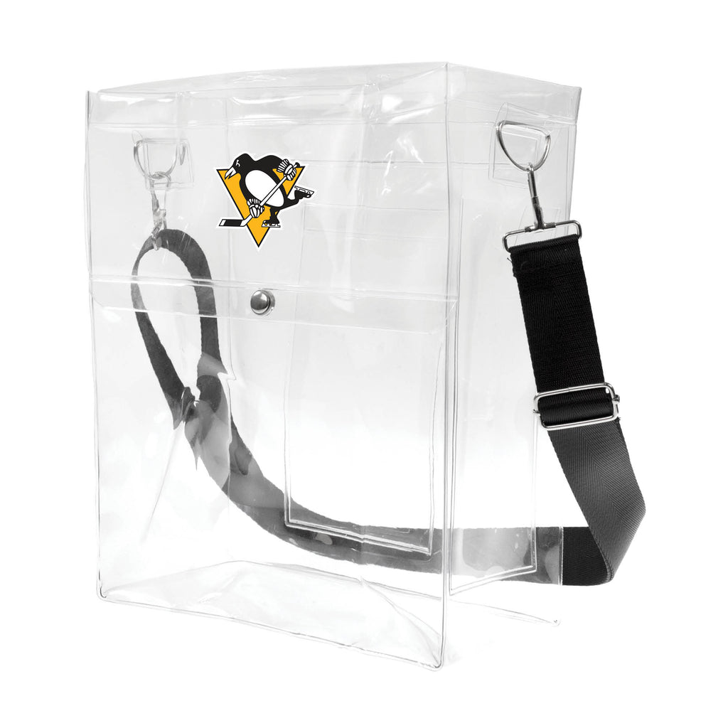 Pittsburgh Penguins Clear Ticket Satchel