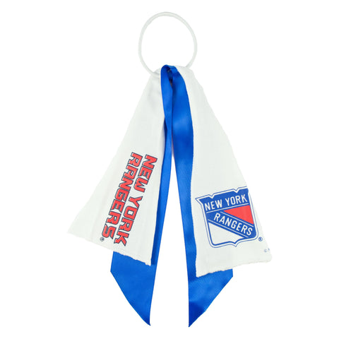 New York Rangers Ponytail Holder