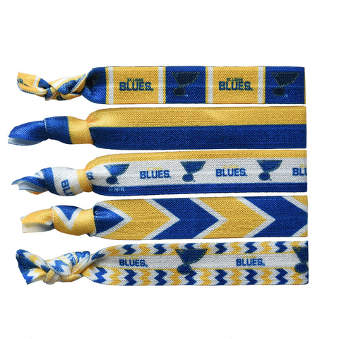 St. Louis Blues Knotted Hair Tie