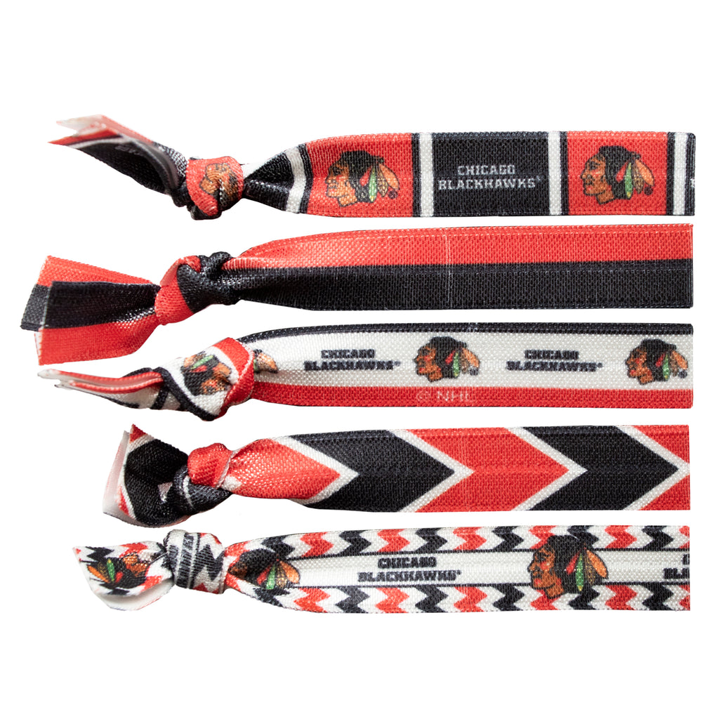 Chicago Blackhawks Knotted Hair Tie