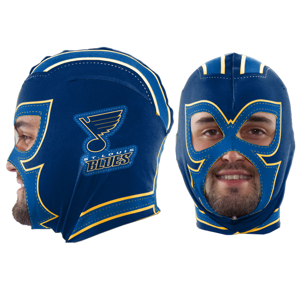 St. Louis Blues Fan Mask