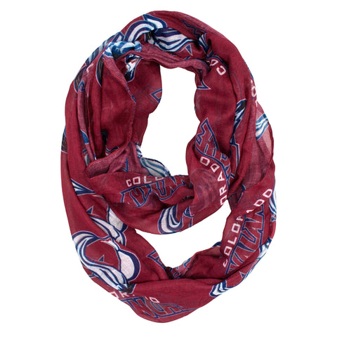 Colorado Avalanche Sheer Infinity Scarf