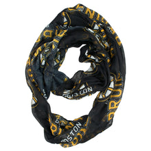 Load image into Gallery viewer, Boston Bruins Sheer Infinity Scarf