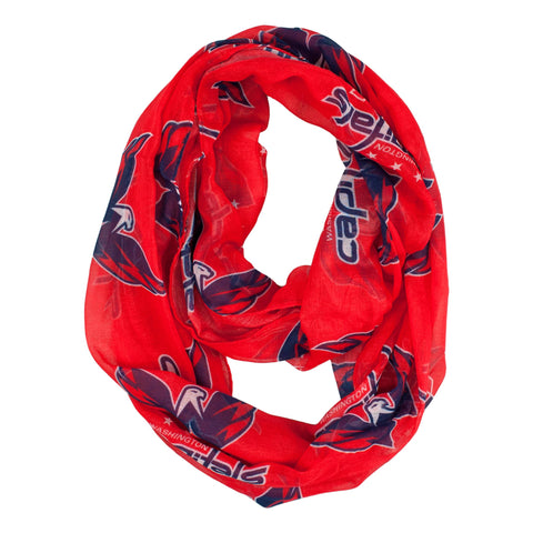 Washington Capitals Sheer Infinity Scarf