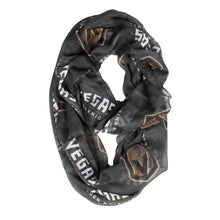 Load image into Gallery viewer, Vegas Golden Knights Sheer Infinity Scarf