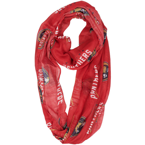 Florida Panthers Sheer Infinity Scarf