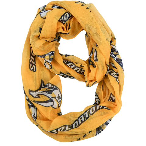 Nashville Predators Sheer Infinity Scarf Alternate