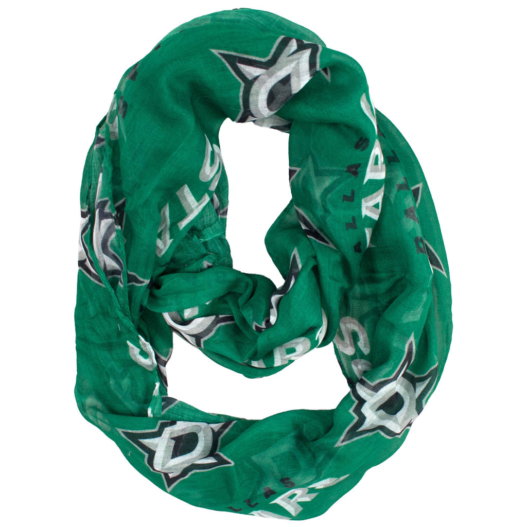 Dallas Stars Sheer Infinity Scarf