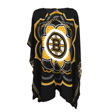 Load image into Gallery viewer, Boston Bruins Caftan Flower